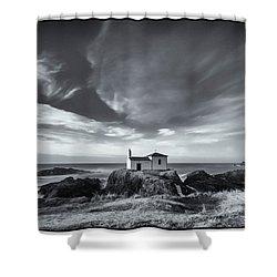 Shower Curtain featuring the photograph Virxe Do Porto Meiras Galicia Spain by Pablo Avanzini