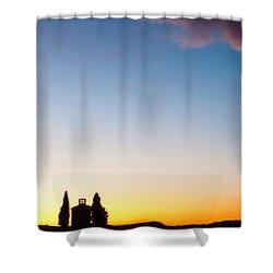 Vitaleta Chapel Shower Curtain