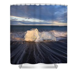 Shower Curtain featuring the photograph Voices Of Tides by Dustin  LeFevre