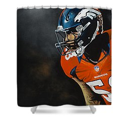 Von Miller Shower Curtain
