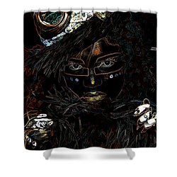 Voodoo Woman Shower Curtain