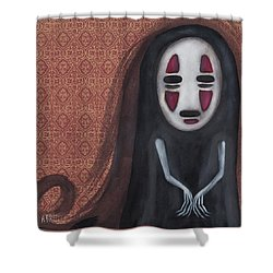 Waiting  Shower Curtain by Abril Andrade Griffith