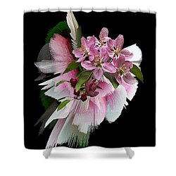 Waiting For Spring Shower Curtain by Judy Johnson