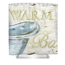 Warm Bath 2 Shower Curtain by Debbie DeWitt