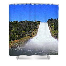 Shower Curtain featuring the photograph Water by AJ Schibig