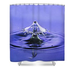 Water Drop Umbrella Shower Curtain