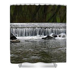 Waterfall 003 Shower Curtain by Dorin Adrian Berbier