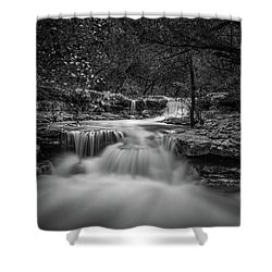 Waterfall In Austin Texas Shower Curtain