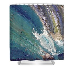 Waterfalls 2 Shower Curtain