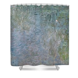 Waterlilies Morning Shower Curtain