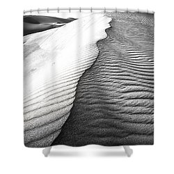 Wave Theory V Shower Curtain by Ryan Weddle