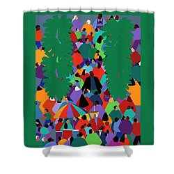 We The People Two Shower Curtain