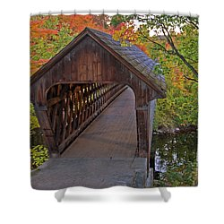Welcoming Autumn Shower Curtain