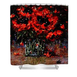 Whispers Of Love  Shower Curtain by Cristina Mihailescu