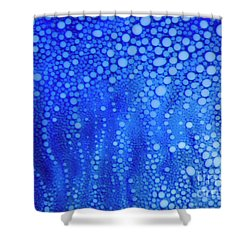 White Dots Shower Curtain