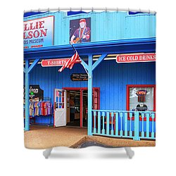 Willie Nelson And Friends Museum And Souvenir Store In Nashville, Tn, Usa Shower Curtain