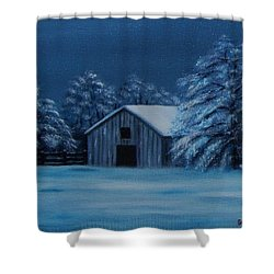 Windburg Barn 2 Shower Curtain