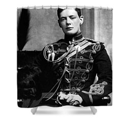 Winston Churchill  Shower Curtain