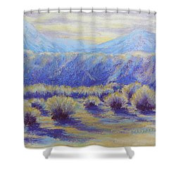 Winter Morning Riverbend Shower Curtain