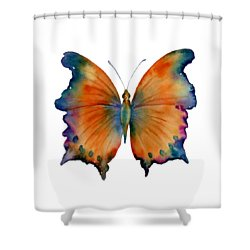 1 Wizard Butterfly Shower Curtain