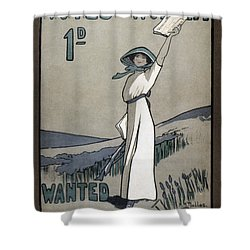 Womens Rights Shower Curtain by Granger