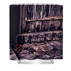 Wood And Stone Shower Curtain