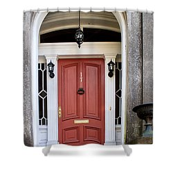 Wooden Door Savannah Shower Curtain