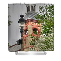 Woodstock Opera House Shower Curtain by David Bearden