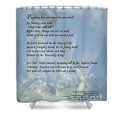 Writer, Artist, Phd. Shower Curtain by Dothlyn Morris Sterling