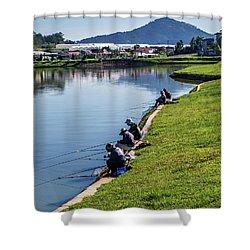 Xuan Huong Lake Shower Curtain