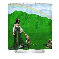 Year Of The Monkey Shower Curtain
