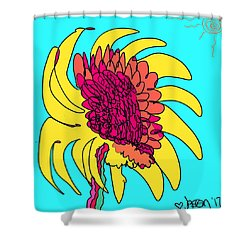 Yes. This Is A Flower, Child Shower Curtain