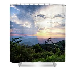 Yin And Yang Shower Curtain by Deborah Scannell