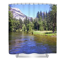 Yosemite Lazy River Shower Curtain