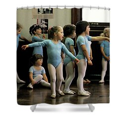 Young Ballet Dancers  Shower Curtain