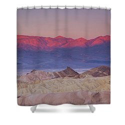 Zabriskie Sunrise Shower Curtain