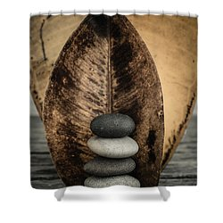 Zen Stones II Shower Curtain