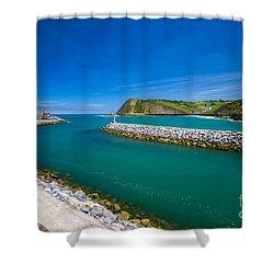 Zumaia Shower Curtain
