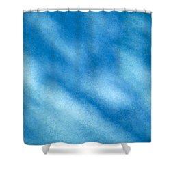 Abstract Shower Curtain by Tony Cordoza