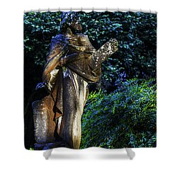10 Commandments Shower Curtain by Ken Frischkorn