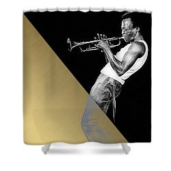 Miles Davis Collection Shower Curtain by Marvin Blaine