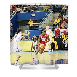 Pam Am Games Womens' Basketball Shower Curtain