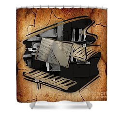 Piano Collection Shower Curtain