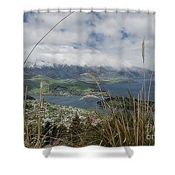 Queenstown New Zealand. Remarkable Ranges And Lake Wakatipu. Shower Curtain