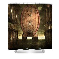 100 Hl - Italian Red Wine Shower Curtain