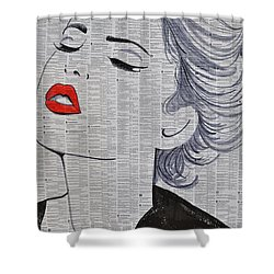1000 Miles Away Shower Curtain