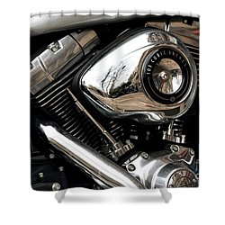103 Cubic Inches Shower Curtain