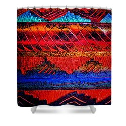Shower Curtain featuring the photograph 105 by Timothy Bulone