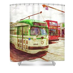1050 Shower Curtain