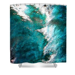 Shower Curtain featuring the photograph 107 by Timothy Bulone